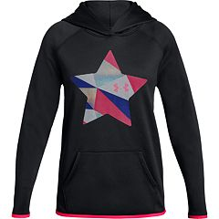 Girls 7-16 Under Armour Fleece Print Star Hoodie
