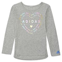 Girls 4-6x adidas Heart Logo Graphic Tee