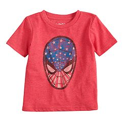Toddler Boy Jumping Beans® Marvel Spider-Man Patriotic Graphic Tee