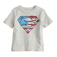 Baby Boy Jumping Beans® DC Comics Superman Flag Logo Graphic Tee