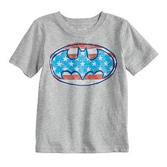 Baby Boy Jumping Beans® DC Comics Batman Logo Patriotic Graphic Tee