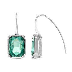 Simply Vera Vera Wang Simulated Crystal Threader Drop Earrings