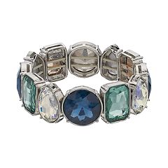 Simply Vera Vera Wang Simulated Crystal Stretch Bracelet