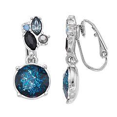 Simply Vera Vera Wang Simulated Crystal Drop Earrings