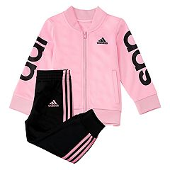 Girls 4-6x adidas Signature Stripes Track Jacket & Pants Set