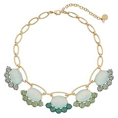 Dana Buchman Chunky Simulated Crystal Collar Necklace