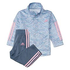 Girls 4-6x adidas Space-Dye Track Jacket & Pants Set