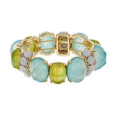 Dana Buchman Simulated Stone Stretch Bracelet
