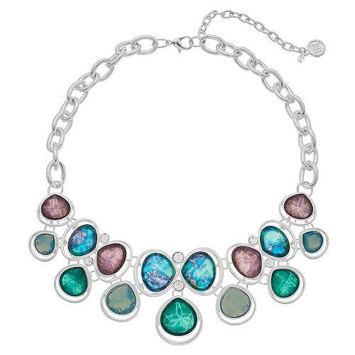 Dana Buchman Chunky Geometric Collar Necklace