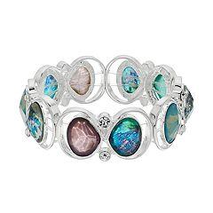 Dana Buchman Silver Tone Stretch Bracelet