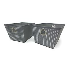 Simple By Design 2-pack Storage Totes