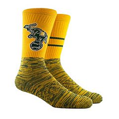 Men's Oakland Athletics Block Crew Socks