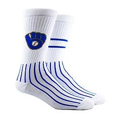 Men's Milwaukee Brewers Block Crew Socks