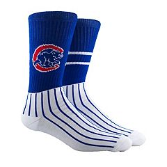 Men's Chicago Cubs Block Crew Socks