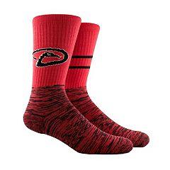 Men's Arizona Diamondbacks Block Crew Socks
