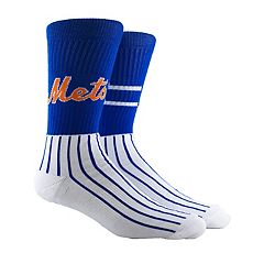 Men's New York Mets Block Crew Socks