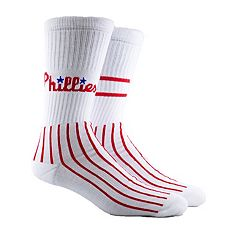 Men's Philadelphia Phillies Block Crew Socks