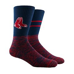 Men's Boston Red Sox Block Crew Socks