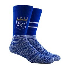 Men's Kansas City Royals Block Crew Socks
