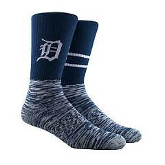Men's Detroit Tigers Block Crew Socks