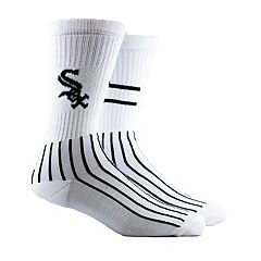Men's Chicago White Sox Block Crew Socks