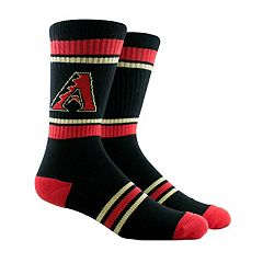 Men's Arizona Diamondbacks Striped Crew Socks