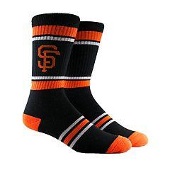 Men's San Francisco Giants Striped Crew Socks
