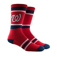 Men's Washington Nationals Striped Crew Socks