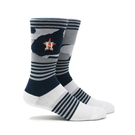 Men's Houston Astros Camouflage Crew Socks
