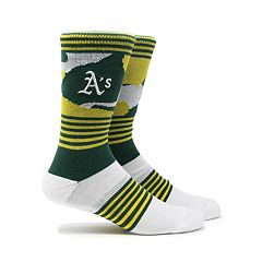 Men's Oakland Athletics Camouflage Crew Socks