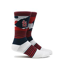 Men's St. Louis Cardinals Camouflage Crew Socks