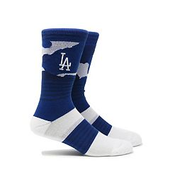 Men's Los Angeles Dodgers Camouflage Crew Socks