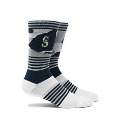 Men's Seattle Mariners Camouflage Crew Socks