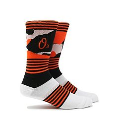 Men's Baltimore Orioles Camouflage Crew Socks