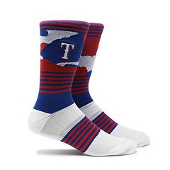 Men's Texas Rangers Camouflage Crew Socks