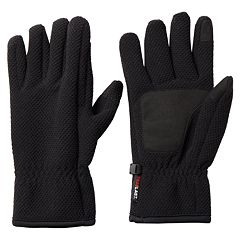 Men's Heat Last Textured Fleece Gloves