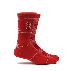 Men's St. Louis Cardinals Geo Crew Socks
