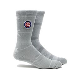 Men's Chicago Cubs Geo Crew Socks