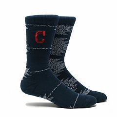 Men's Cleveland Indians Geo Crew Socks