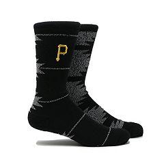 Men's Pittsburgh Pirates Geo Crew Socks