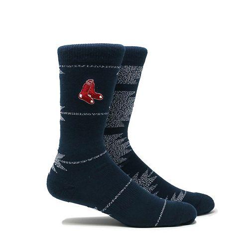 Men's Boston Red Sox Geo Crew Socks
