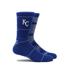 Men's Kansas City Royals Geo Crew Socks