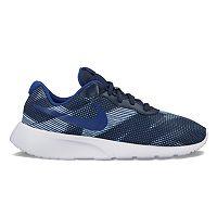 Nike Tanjun Print Grade School Boys' Athletic Shoes