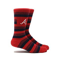 Men's Atlanta Braves Steps Crew Socks