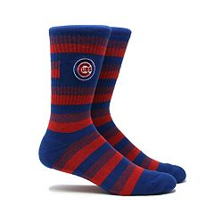 Men's Chicago Cubs Steps Crew Socks