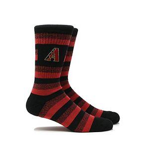 Men's Arizona Diamondbacks Steps Crew Socks