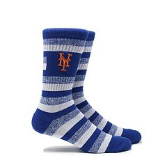 Men's New York Mets Steps Crew Socks