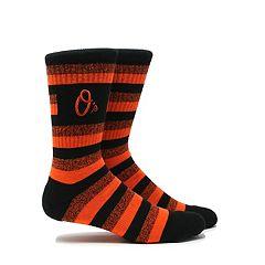Men's Baltimore Orioles Steps Crew Socks