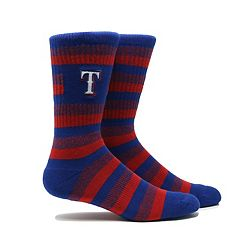 Men's Texas Rangers Steps Crew Socks