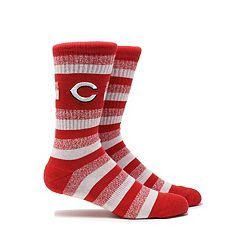 Men's Cincinnati Reds Steps Crew Socks